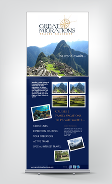 Great Migrations Travel Advisors Trade Show Banner Other  Draft # 2 by rooster