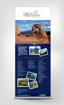 Great Migrations Travel Advisors Trade Show Banner Other  Draft # 3 by rooster