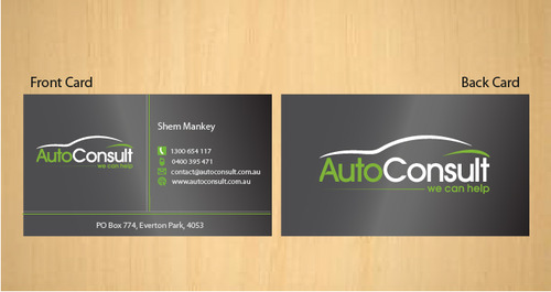Auto Consult Business Cards and Stationery  Draft # 184 by 14stars