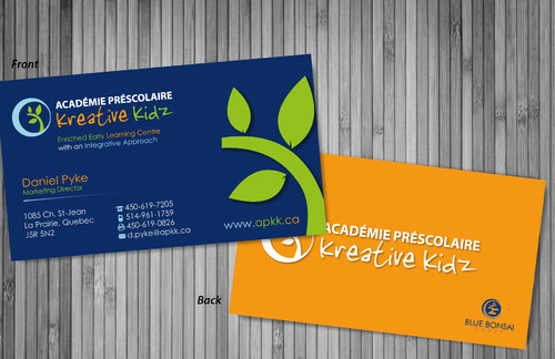 Preschool Academy Kreative Kidz Business Cards and Stationery  Draft # 11 by sevensky