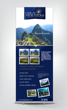 Great Migrations Travel Advisors Trade Show Banner Other  Draft # 4 by rooster