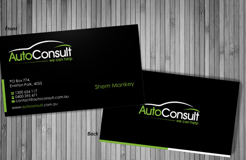 Auto Consult Business Cards and Stationery  Draft # 193 by sevensky