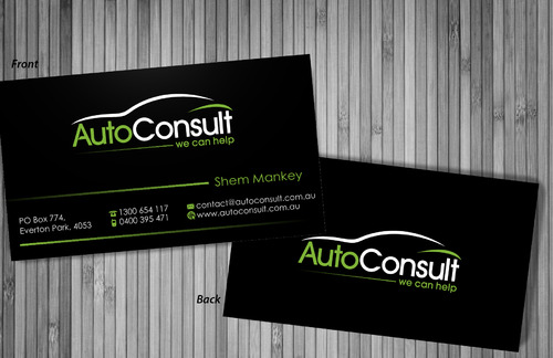 Auto Consult Business Cards and Stationery  Draft # 194 by sevensky