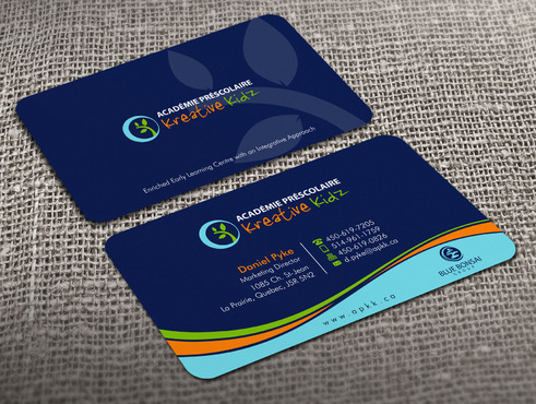 Preschool Academy Kreative Kidz Business Cards and Stationery  Draft # 21 by Xpert