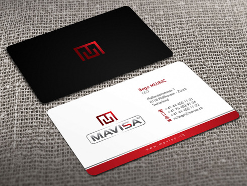 Mavisa GmbH Business Cards and Stationery  Draft # 2 by Xpert