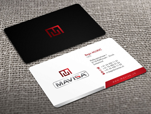 Mavisa GmbH Business Cards and Stationery  Draft # 5 by Xpert