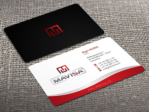 Mavisa GmbH Business Cards and Stationery  Draft # 4 by Xpert