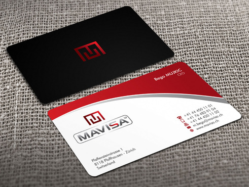 Mavisa GmbH Business Cards and Stationery  Draft # 7 by Xpert