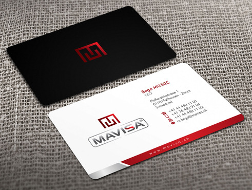 Mavisa GmbH Business Cards and Stationery  Draft # 8 by Xpert