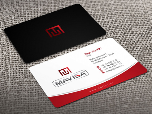 Mavisa GmbH Business Cards and Stationery  Draft # 9 by Xpert