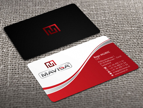 Mavisa GmbH Business Cards and Stationery  Draft # 10 by Xpert