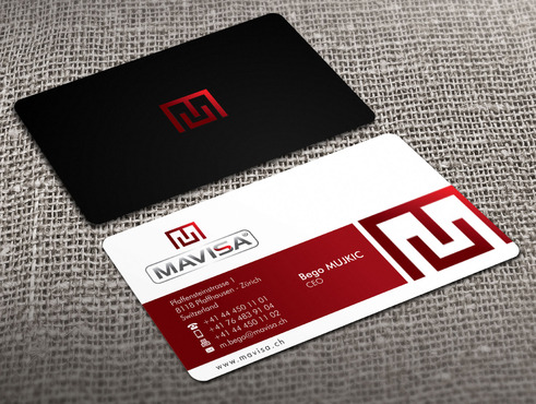 Mavisa GmbH Business Cards and Stationery  Draft # 11 by Xpert