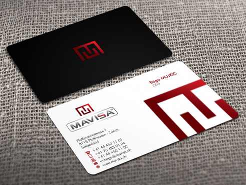 Mavisa GmbH Business Cards and Stationery  Draft # 12 by Xpert