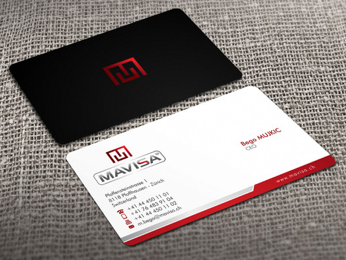 Mavisa GmbH Business Cards and Stationery  Draft # 13 by Xpert