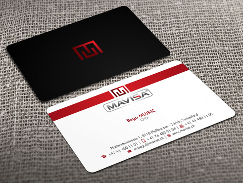 Mavisa GmbH Business Cards and Stationery  Draft # 14 by Xpert