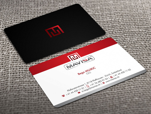Mavisa GmbH Business Cards and Stationery  Draft # 15 by Xpert