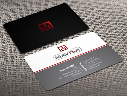 Mavisa GmbH Business Cards and Stationery  Draft # 16 by Xpert