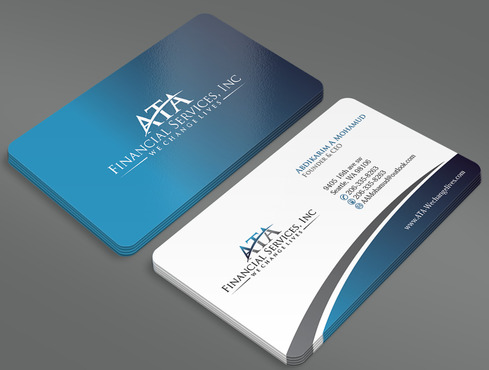 ATA Financial Services, Inc Business Cards and Stationery  Draft # 19 by ArtworksKingdom
