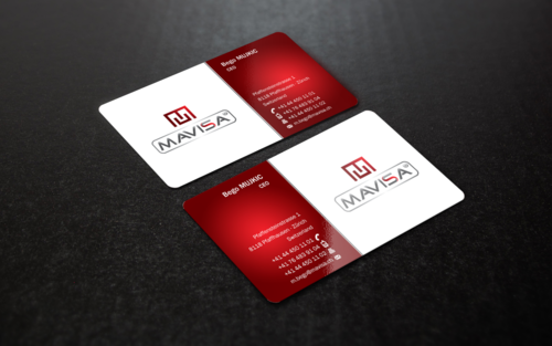 Mavisa GmbH Business Cards and Stationery  Draft # 71 by einsanimation
