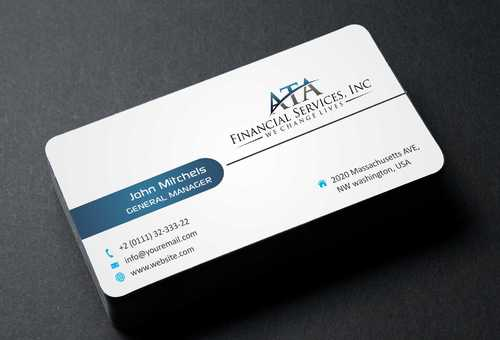 ATA Financial Services, Inc Business Cards and Stationery  Draft # 192 by Dawson