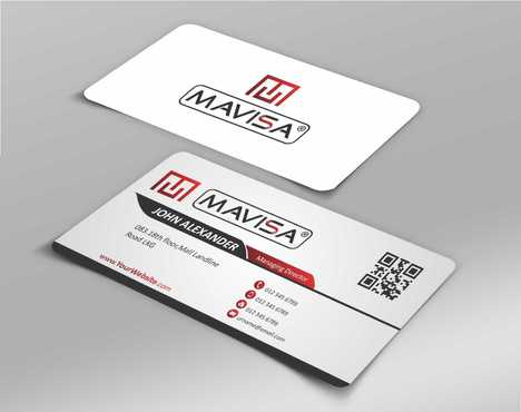 Mavisa GmbH Business Cards and Stationery  Draft # 85 by Dawson