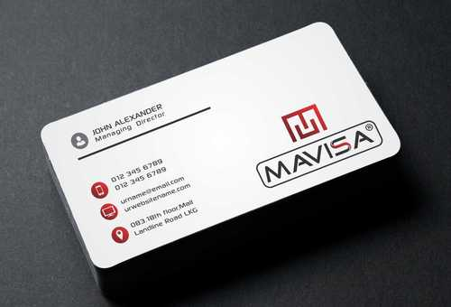 Mavisa GmbH Business Cards and Stationery  Draft # 90 by Dawson