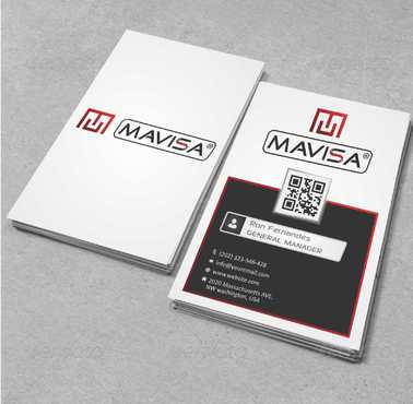 Mavisa GmbH Business Cards and Stationery  Draft # 94 by Dawson
