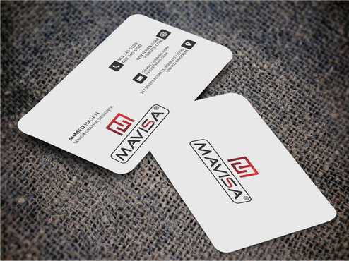Mavisa GmbH Business Cards and Stationery  Draft # 102 by Dawson