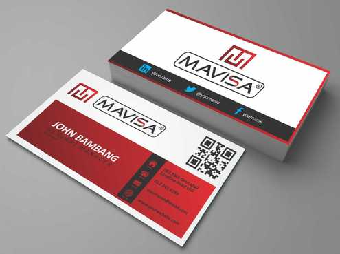 Mavisa GmbH Business Cards and Stationery  Draft # 104 by Dawson