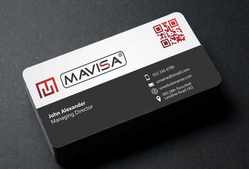 Mavisa GmbH Business Cards and Stationery  Draft # 108 by Dawson