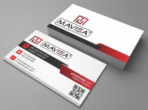Mavisa GmbH Business Cards and Stationery  Draft # 109 by Dawson