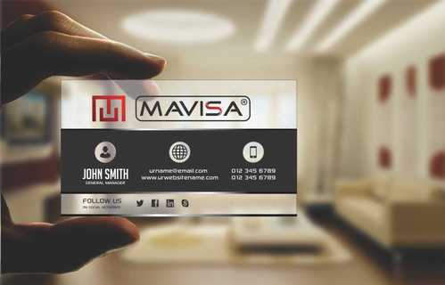 Mavisa GmbH Business Cards and Stationery  Draft # 113 by Dawson