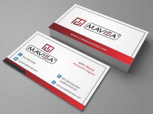 Mavisa GmbH Business Cards and Stationery  Draft # 112 by Dawson