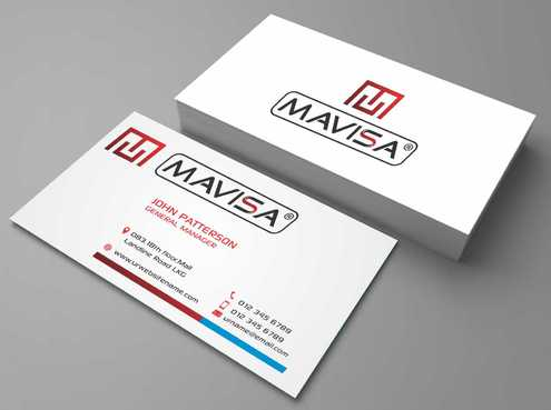 Mavisa GmbH Business Cards and Stationery  Draft # 111 by Dawson