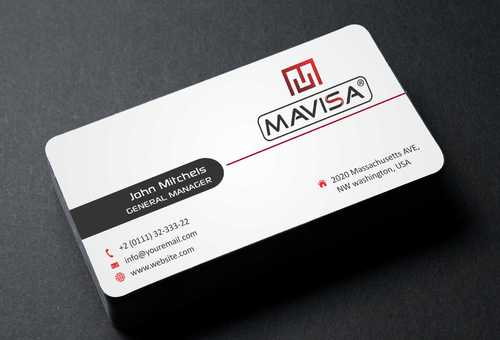 Mavisa GmbH Business Cards and Stationery  Draft # 114 by Dawson