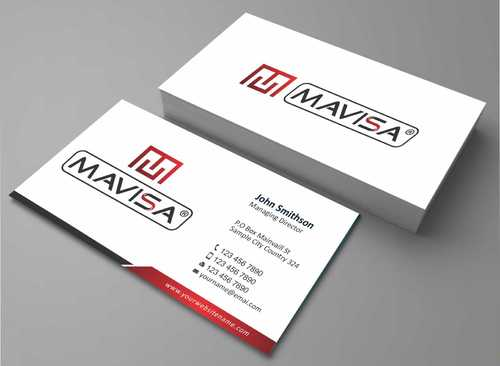 Mavisa GmbH Business Cards and Stationery  Draft # 115 by Dawson