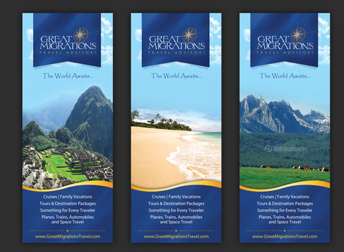 Great Migrations Travel Advisors Trade Show Banner Other  Draft # 10 by september