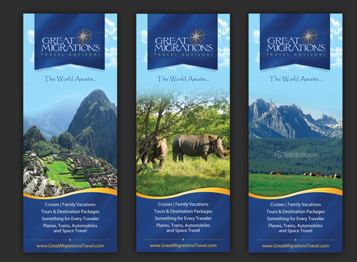 Great Migrations Travel Advisors Trade Show Banner Other  Draft # 11 by september