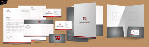 Mavisa GmbH Business Cards and Stationery  Draft # 170 by einsanimation