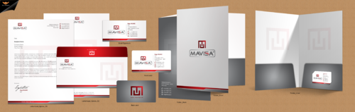 Mavisa GmbH Business Cards and Stationery Winning Design by einsanimation