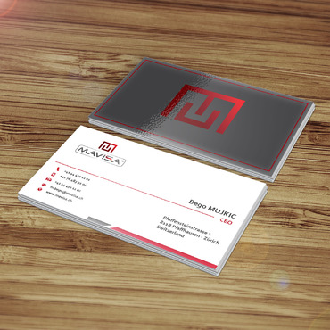 Mavisa GmbH Business Cards and Stationery  Draft # 173 by tazbir01