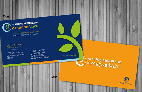 Preschool Academy Kreative Kidz Business Cards and Stationery  Draft # 219 by sevensky