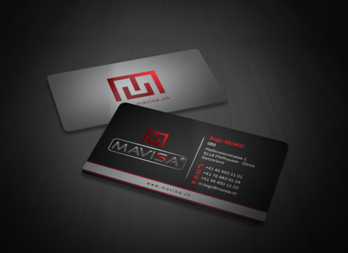 Mavisa GmbH Business Cards and Stationery  Draft # 176 by einsanimation