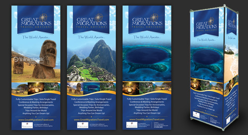 Great Migrations Travel Advisors Trade Show Banner Other  Draft # 20 by september