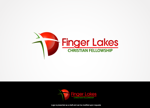 Finger Lakes Christian Fellowship A Logo, Monogram, or Icon  Draft # 91 by hands4art