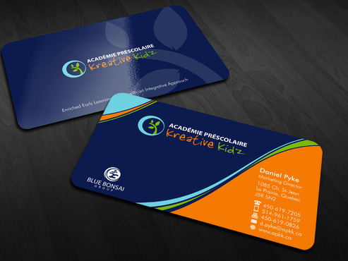 Preschool Academy Kreative Kidz Business Cards and Stationery  Draft # 220 by Xpert