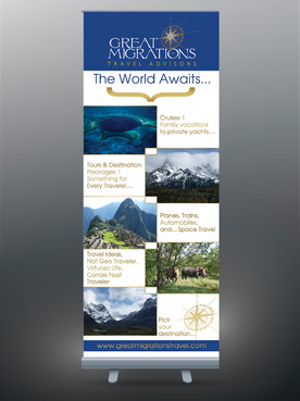Great Migrations Travel Advisors Trade Show Banner Other  Draft # 27 by egitova