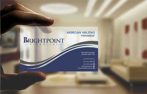 Brightpoint Financial Business Cards and Stationery  Draft # 147 by Dawson