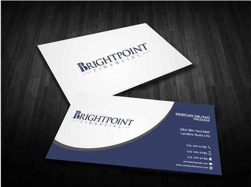 Brightpoint Financial Business Cards and Stationery  Draft # 148 by Dawson