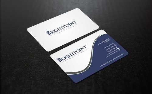 Brightpoint Financial Business Cards and Stationery  Draft # 150 by Dawson